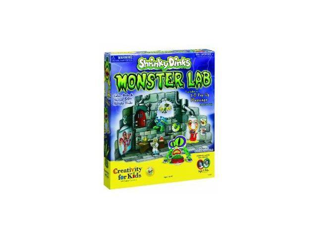 Creativity For Kids: Shrinky Dink monster Lab