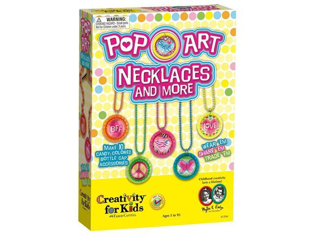 Creativity For Kids Pop Art Necklaces and More