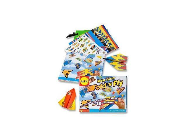 Alex Toys Fold N Fly Airplanes