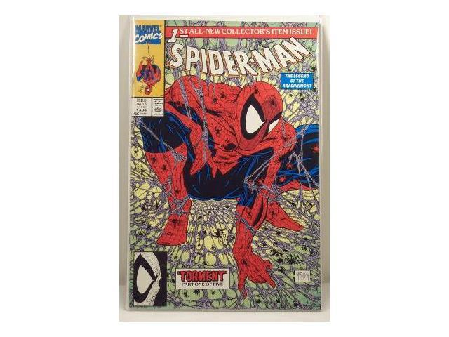 Spider-man #1 Green Cover Comic Book