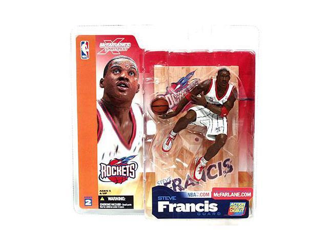 McFarlane Sportspicks Series 2 Steve Francis Rockets Guard Action Figure