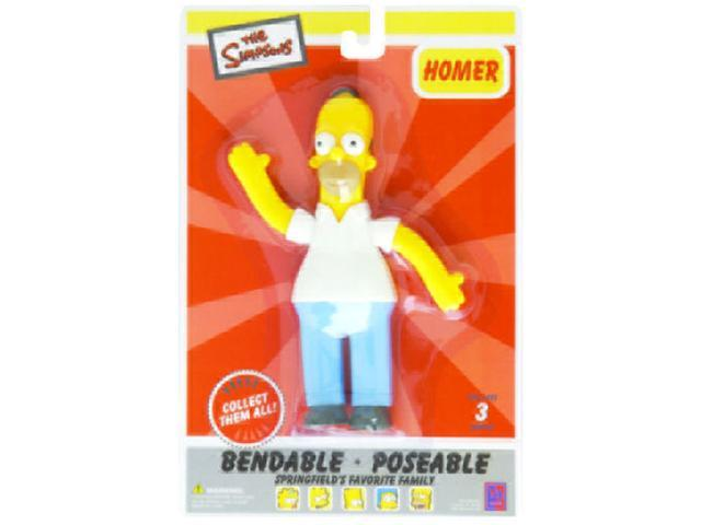 The Simpsons Homer Simpson Bendable Figure1805