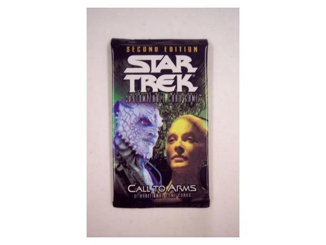 Star Trek 2nd Edition Call To Arms CCG Booster Packs
