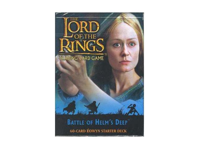 LOTR TCG Battle of Helm's Deep Eowyn Starter Deck