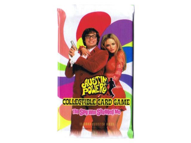 Austin Powers The Spy Who Shagged Me CCG Booster Pack