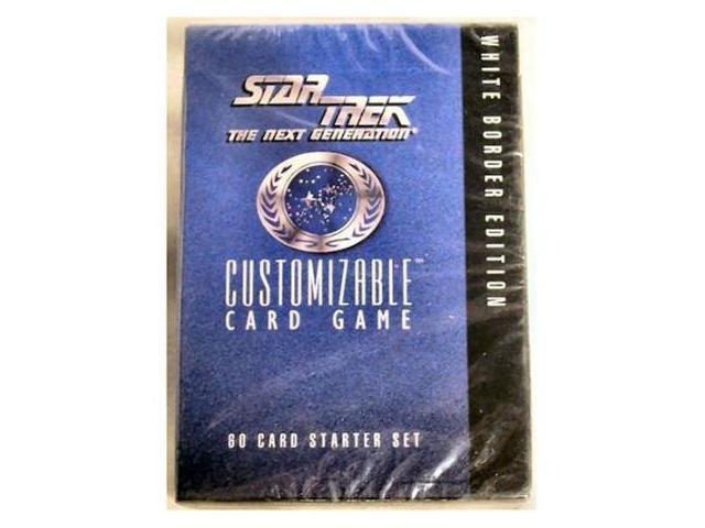 Star Trek TNG CCG White Border Edition Starter Set