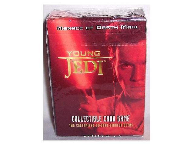 Young Jedi CCG Menace of Darth Maul Starter Deck