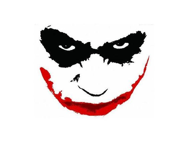 The Dark Knight Joker Face Wall Graffix