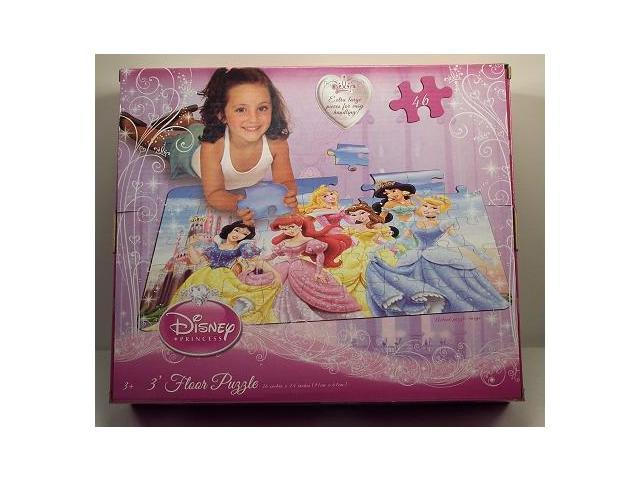 Disney Princess 46 Piece 3 Foot Floor Puzzle