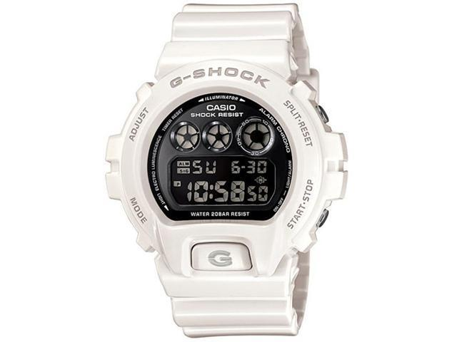 Casio DW6900NB-7 Men's G-Shock White Resin 200M WR Alarm Watch
