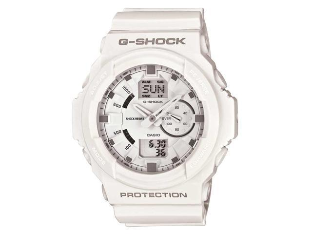 Casio GA150-7A Men's G-Shock White Plastic World Timer Multi-Function Alarm Dive