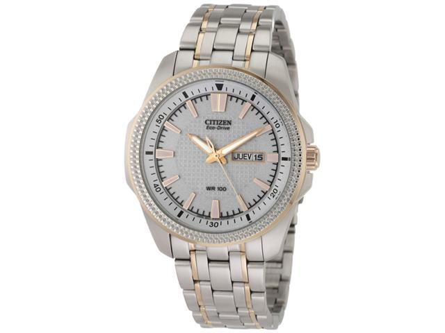 Citizen Two Tone Steel Dress WR100 Mens Watch BM8496-51A