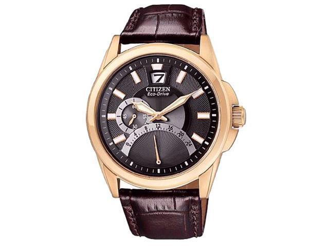 Citizen Eco-Drive Retrograde 24-hour Black Dial Men's watch #BR0123-09E