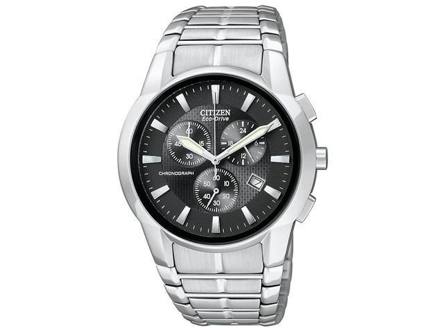 Citizen Eco-Drive Chronograph Black Dial Men's watch #AT2050-56E