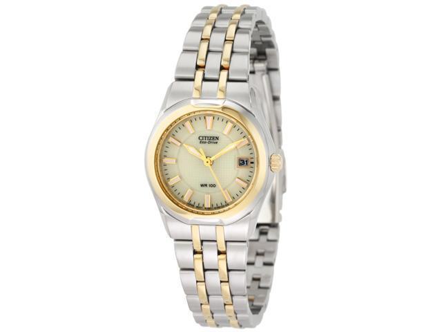 Citizen Eco-Drive Corso Champagne Dial Women's watch #EW0944-51P