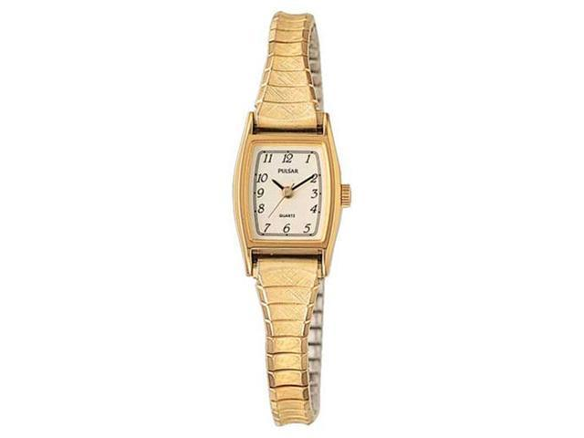 Pulsar PC3010 Women's Gold Plated Stainless Steel Watch