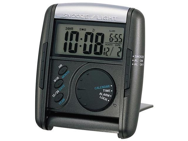 Seiko Clocks Travel Alarm clock #QHL004KLH