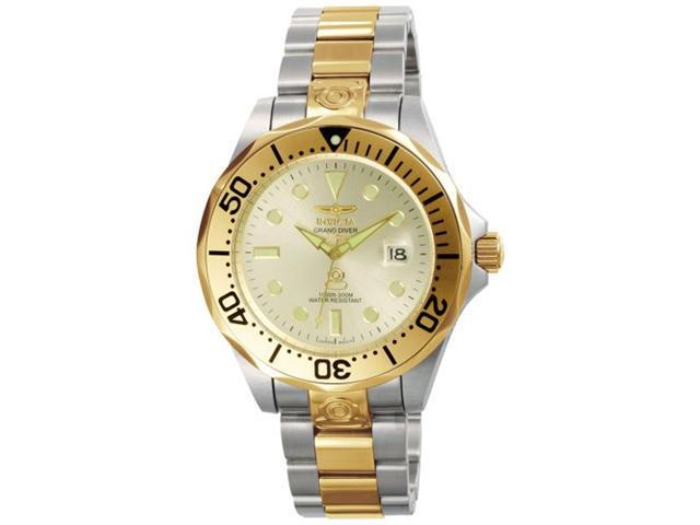Invicta Men's Grand Diver Automatic Watch - Two Tone