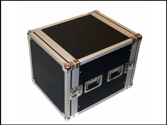 Seismic Audio - 10 Space Rack Flight Case - Fits Standard 19 inch Gear