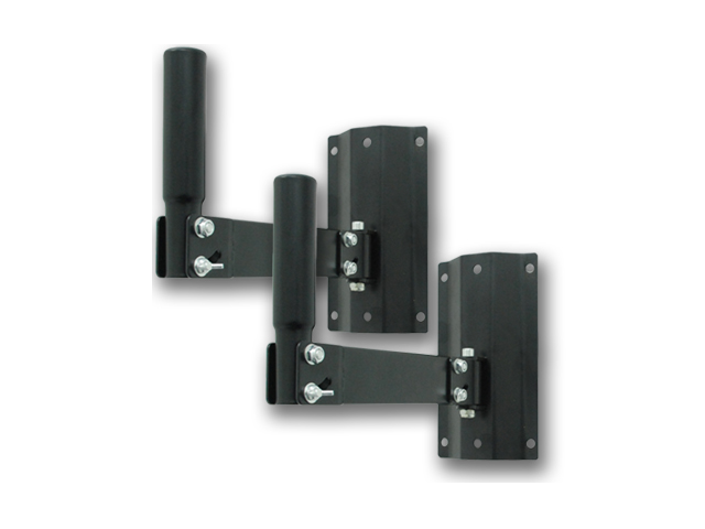Seismic Audio - SWM2 (Pair) - PA/DJ Speaker Stand Steel Wall Mount