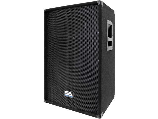 Seismic Audio - SA-15T-PW - Powered 2-Way 15