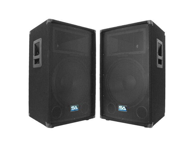 Seismic Audio - Two 15