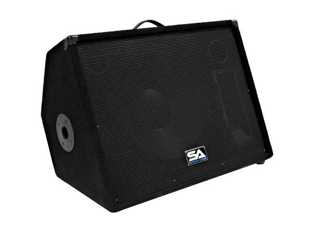 "Seismic Audio - 15"" Stage/Studio/Floor Monitor Speaker Cabinet PA/DJ"