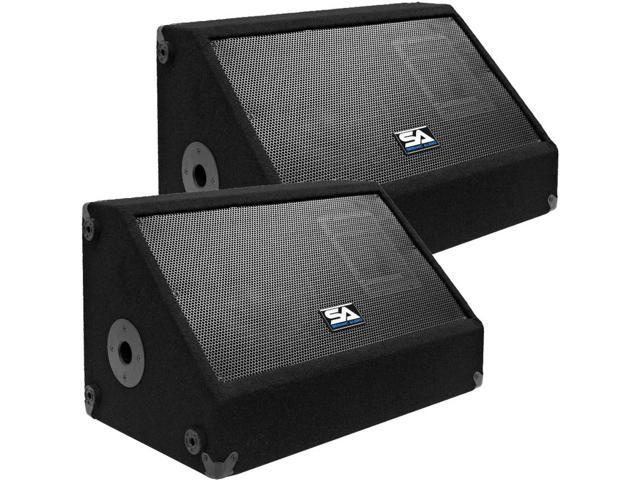 Seismic Audio - Two 10 Inch PA/DJ Speaker Cabinets with Titanium Horns