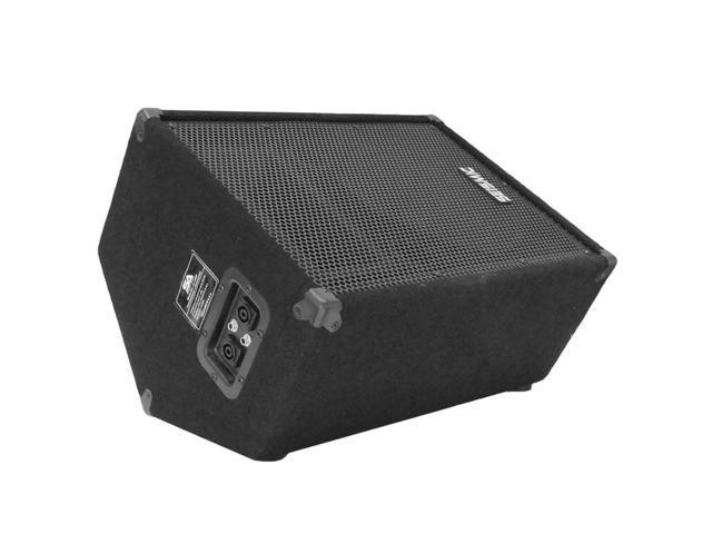 """Seismic Audio - FL-10MPSingle - Single 10"""" PA Speaker or Floor Monitor"""