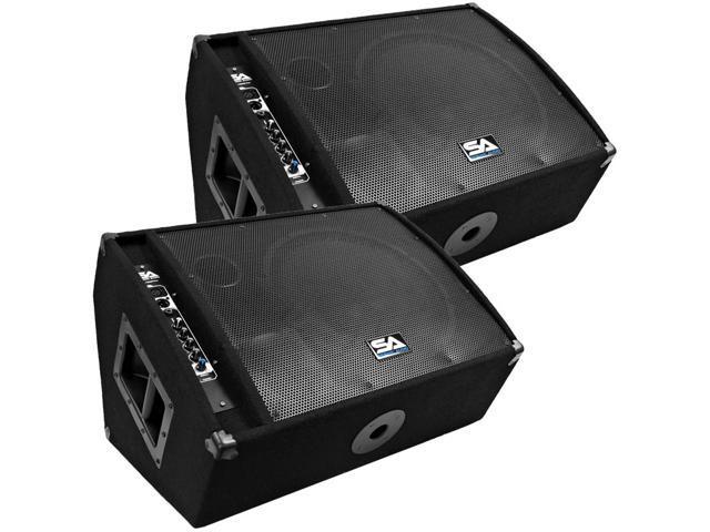 Seismic Audio - FL-15MP-PW-Pair - Pair of Premium Powered 2-Way 15