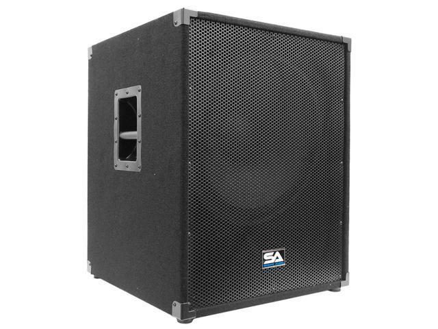 Seismic Audio - 18 inch PA Subwoofer Cabinet PA/DJ Sub Woofer Cab Live Sound