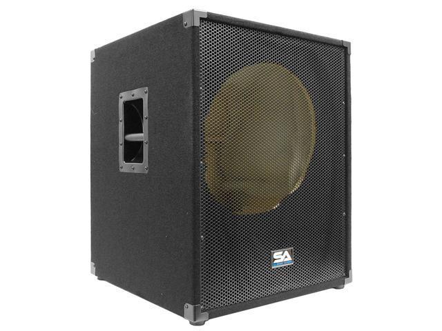 Seismic Audio - 1x15 Bass Guitar Speaker Cabinet and 2x10 Bass Guitar Cab