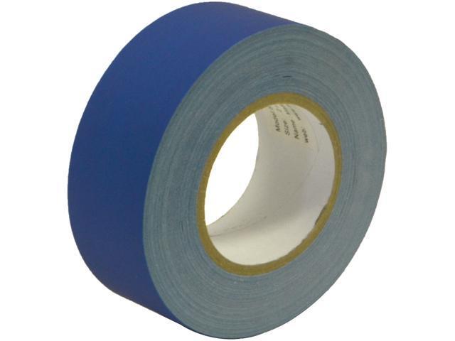 Seismic Audio - SeismicTape-Blue602 - 2 Inch Blue Gaffer's Tape - 60 yards per Roll