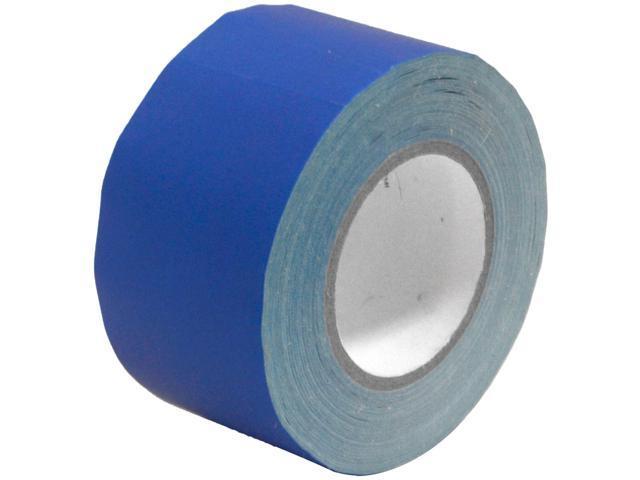 Seismic Audio - SeismicTape-Blue603 - 3 Inch Blue Gaffer's Tape - 60 yards per Roll