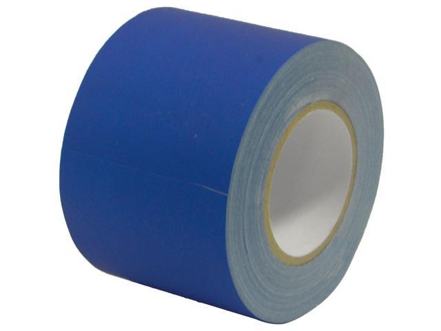 Seismic Audio - SeismicTape-Blue604 - 4 Inch Blue Gaffer's Tape - 60 yards per Roll