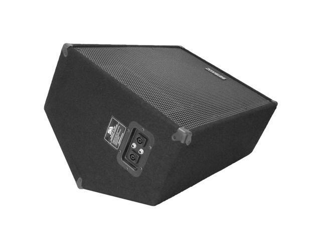 "Seismic Audio - FL-15MP - 15"" FLOOR MONITOR - 400 Watts RMS - Stage/Studio PA/DJ Speaker"