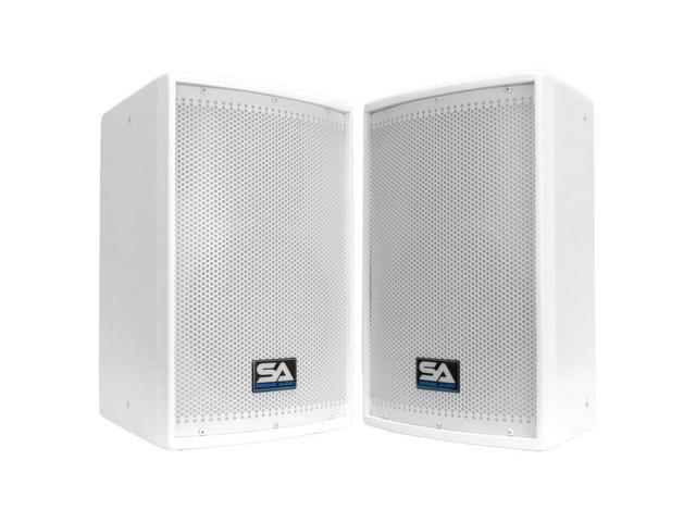 Seismic Audio - Arctic 10 - Pair of Premium White 10