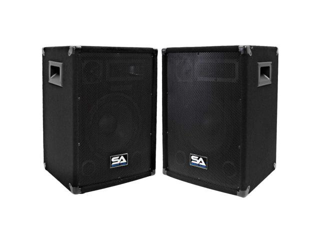 Seismic Audio - Two 10 Inch PA/DJ Speaker Cabinets or 10