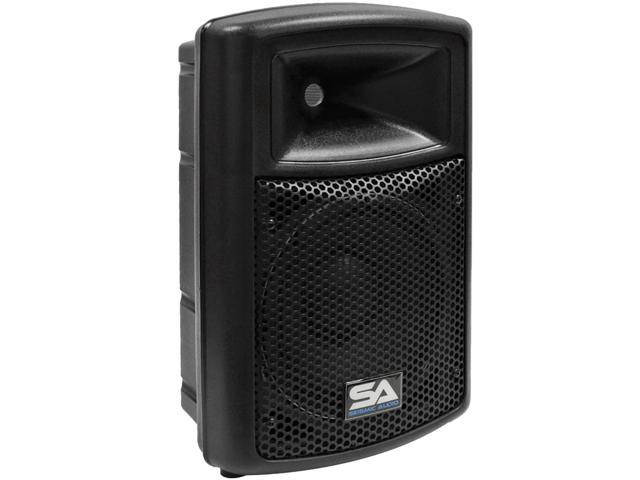 Seismic Audio - Powered 10 Inch PA DJ Speaker - 400 watt Molded Active Cabinet