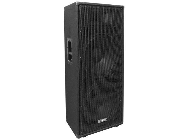 Seismic Audio - FL-155PC-Single - Dual Premium 15