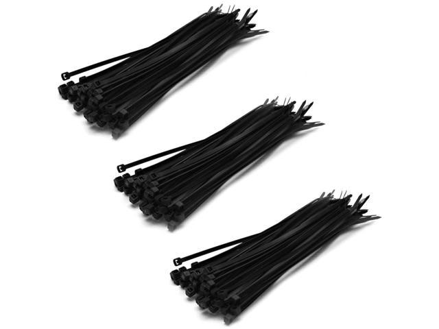 Seismic Audio - SAPT144-ThreePK - Three Pack of Zip Ties - 8 Inches (3 Packs of 50)