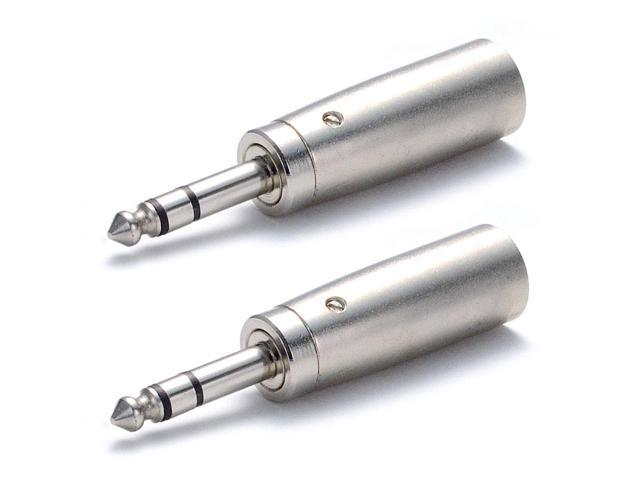 Seismic Audio - SAPT2 (2 Pack) - XLR Male to Stereo 1/4