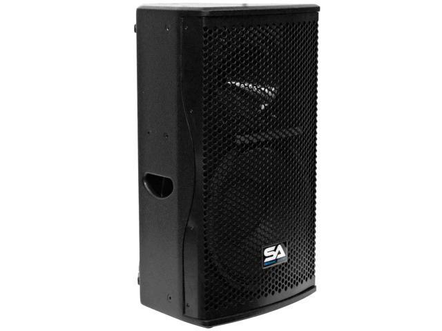 "Seismic Audio - Magma-12 - Premium 12"" Full Range / Bi-Amp 2-Way Loudspeaker Cabinet - PA DJ Band, Live Sound Loudspeaker ..."