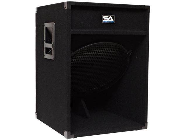 Seismic Audio - 18 inch Down Firing PA Subwoofer Cabinet Pro Audio PA/DJ