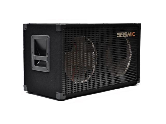 Seismic Audio - 2x12 EMPTY Guitar Speaker Cabinet - Band Pro Audio 212