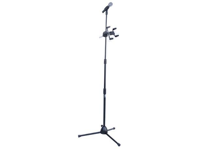 Seismic Audio - SATAB8-M30 - Microphone and iPad and Microphone Adjustable Stand - Works for  Most Tablets, Android, Samsung, ...