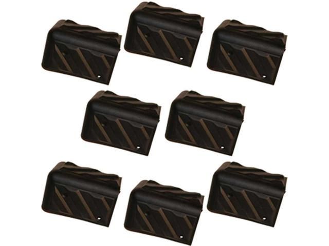 Seismic Audio - Plastic Corners for PA Speaker and Sub Woofer Cabinets - 8 Pack