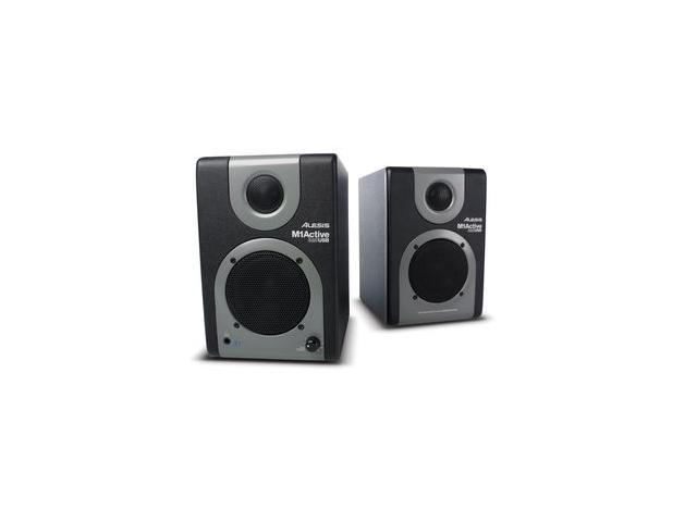 Alesis M1-ACTIVE-320USB Studio Monitors w/USB Pair Active / Powered Studio Monitor