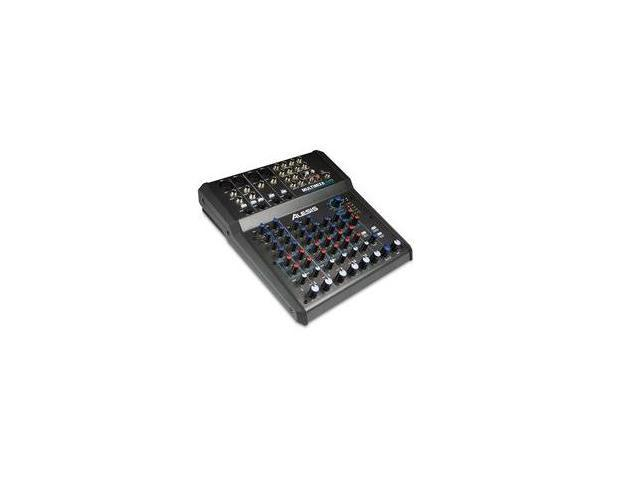 Alesis MultiMix-8-USB-FX 8 CH Mixer W/ Effects/USB PA or Recording Mixer with Computer IO