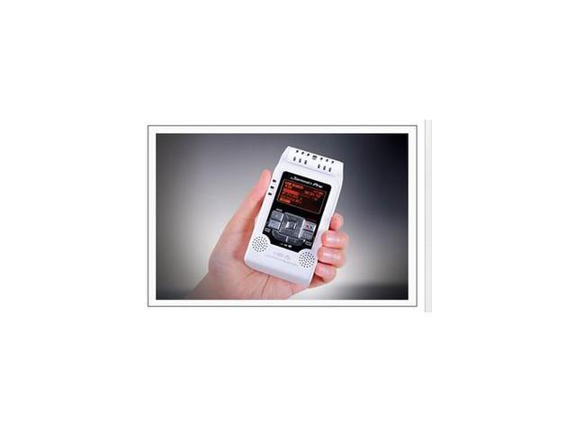 DJ TECH HR5 WHITE PRO DIGITAL PORTABLE AUDIO RECORDER